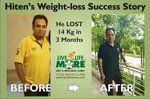 Hiten weight loss-Success Story